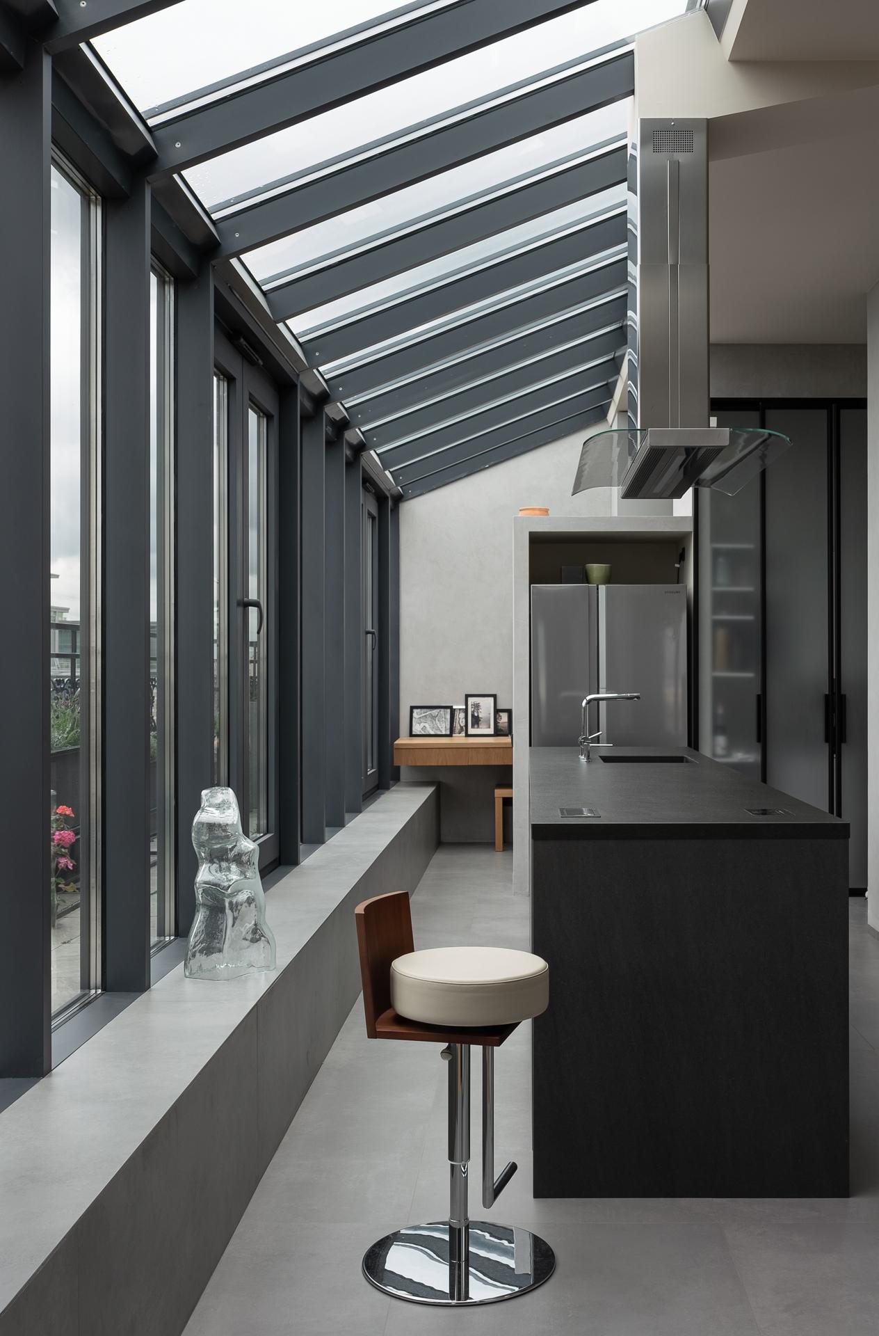 Кухня в проекте бюро Haubaus
